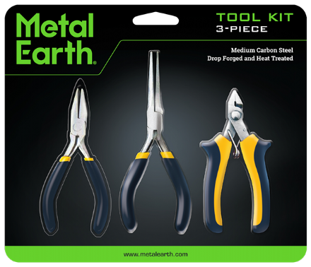 Metal Earth 3-Piece Tool Set